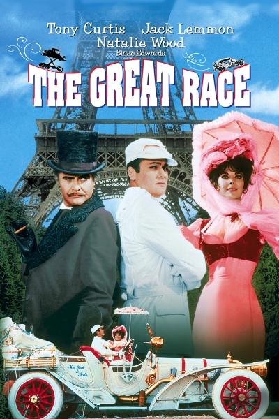 Большие гонки / The Great Race (Блейк Эдвардс) [1965, США, мелодрама, комедия, приключения,семейный, спорт, BDRip SD (480p)] DUB, MVO (3xRUS, UKR), Original + SUB (rus, eng)